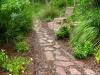 Jager_landscape architecture_kiawah island_stone garden path through native plants
