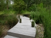 Jager_landscape architecture_kiawah island_wood bridge through native grasses and rock swale