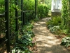 Livingston_ gravel path in through garden