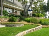 paris mountain_greenville_south carolina_terrace garden plantbeds with native grasses and native plants and shrubs
