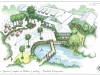 Spring Island Fitness Center_Spring Island South Carolina_landscape architecture_master plan_perspective view of pool area with dining area and pond.jpg